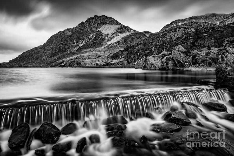 Ogwen Weir Snowdonia by Adrian Evans