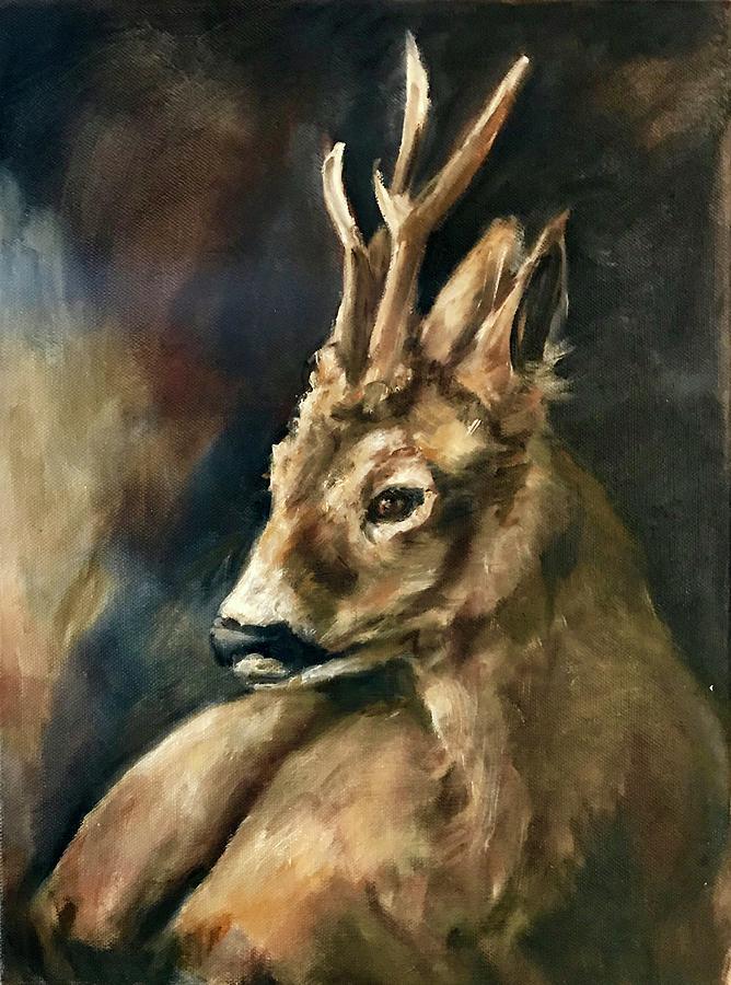 Oh Deer Painting