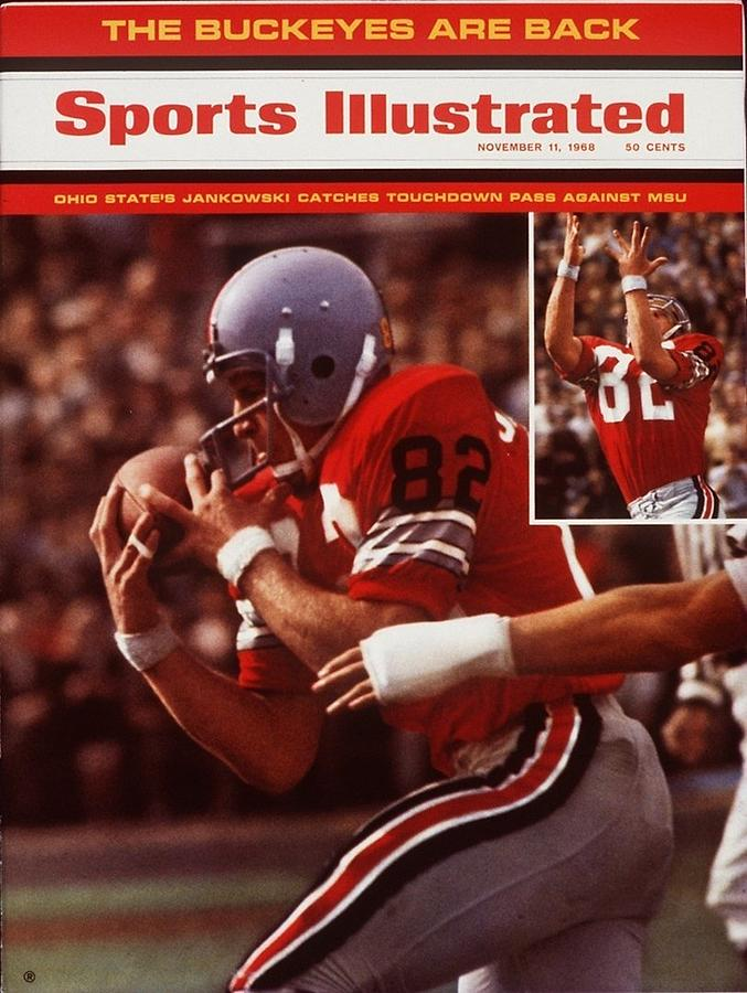 Ohio State Bruce Jankowski... Sports Illustrated Cover Photograph by Sports Illustrated