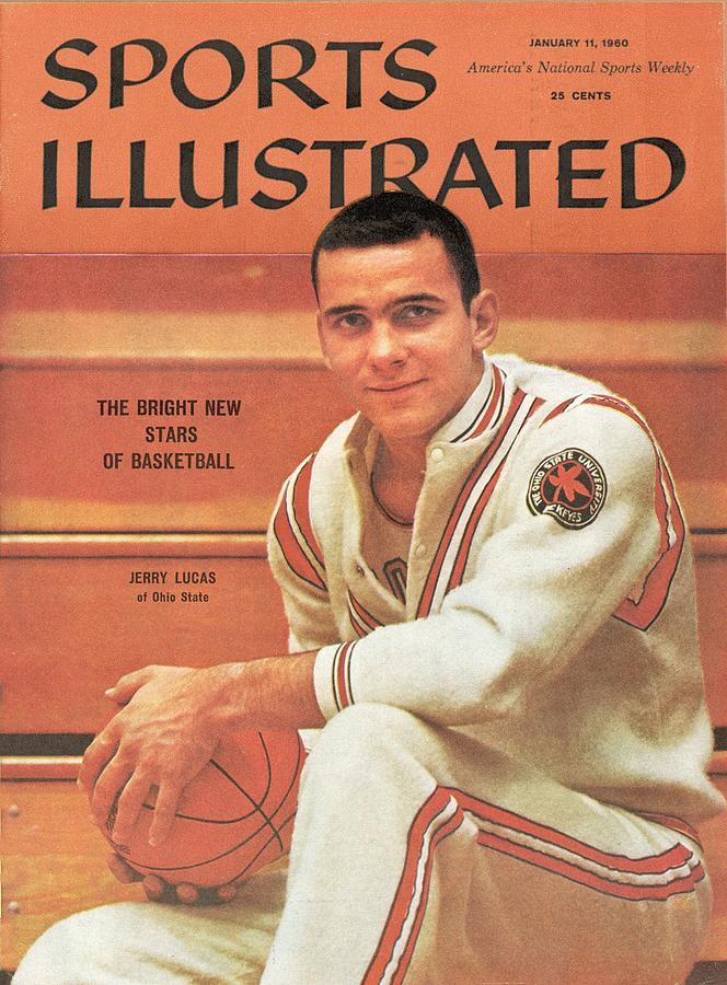 Ohio State Jerry Lucas Sports Illustrated Cover Photograph by Sports Illustrated
