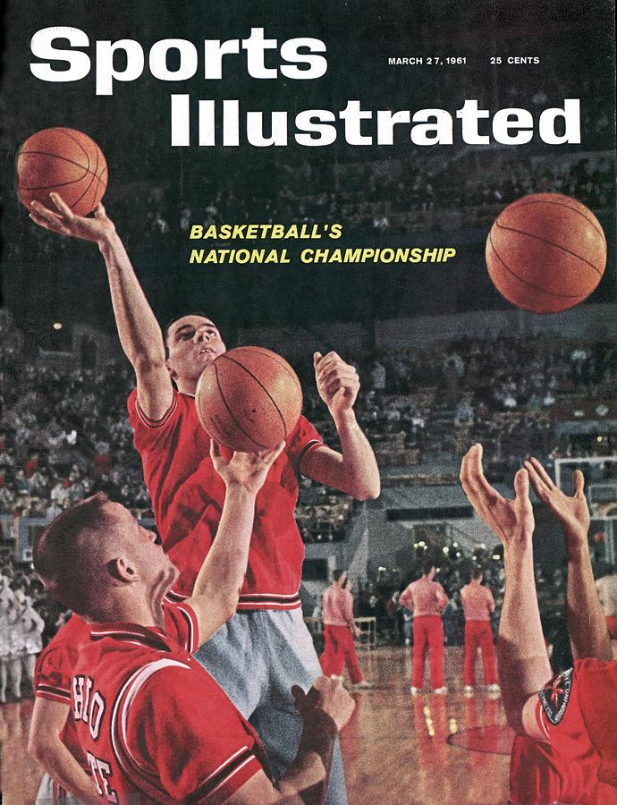 Ohio State Jerry Lucas... Sports Illustrated Cover Photograph by Sports Illustrated