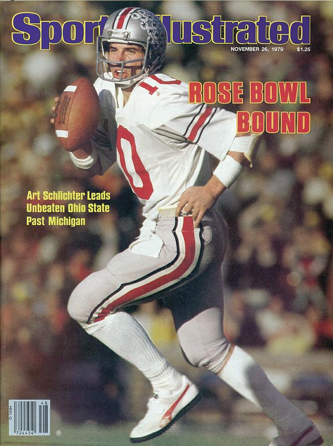 Ohio State Qb Art Schlichter... Sports Illustrated Cover Photograph by Sports Illustrated