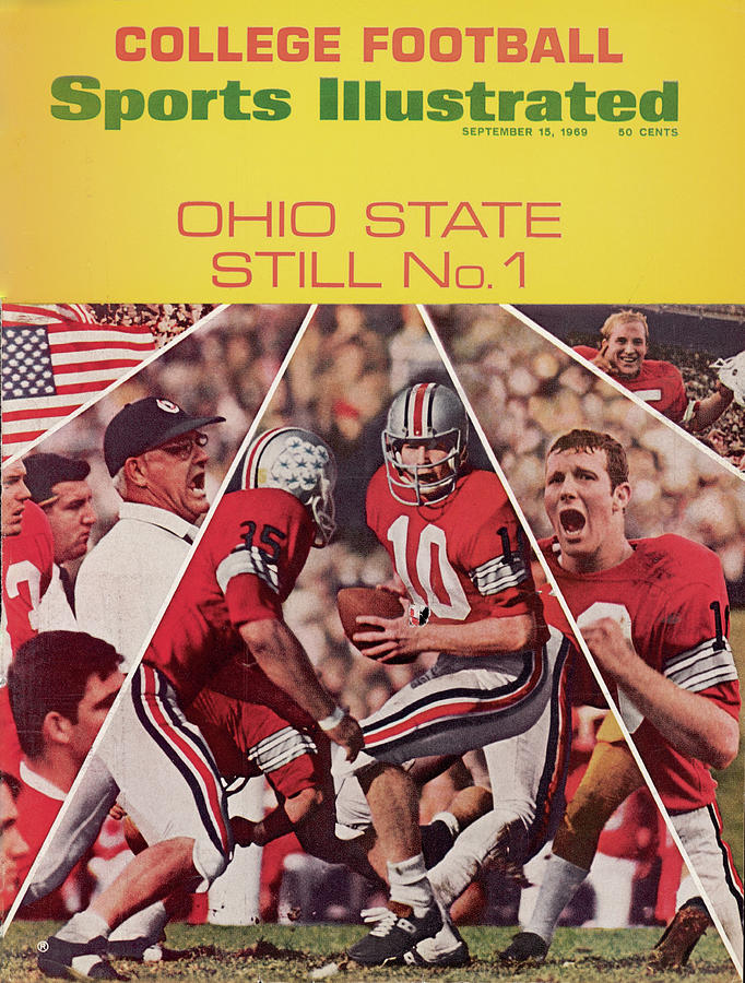 Ohio State Still No. 1 Sports Illustrated Cover Photograph by Sports Illustrated