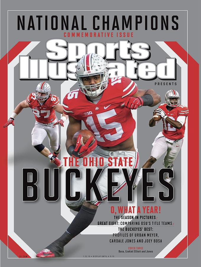Ohio State University 2014 Ncaa National Champions Sports Illustrated Cover Photograph by Sports Illustrated