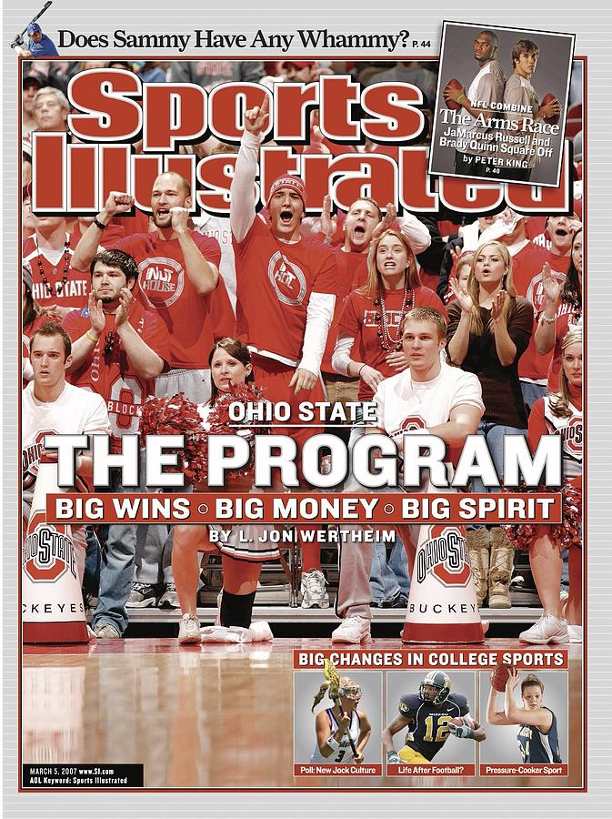 Ohio State University Athletics Sports Illustrated Cover Photograph by Sports Illustrated