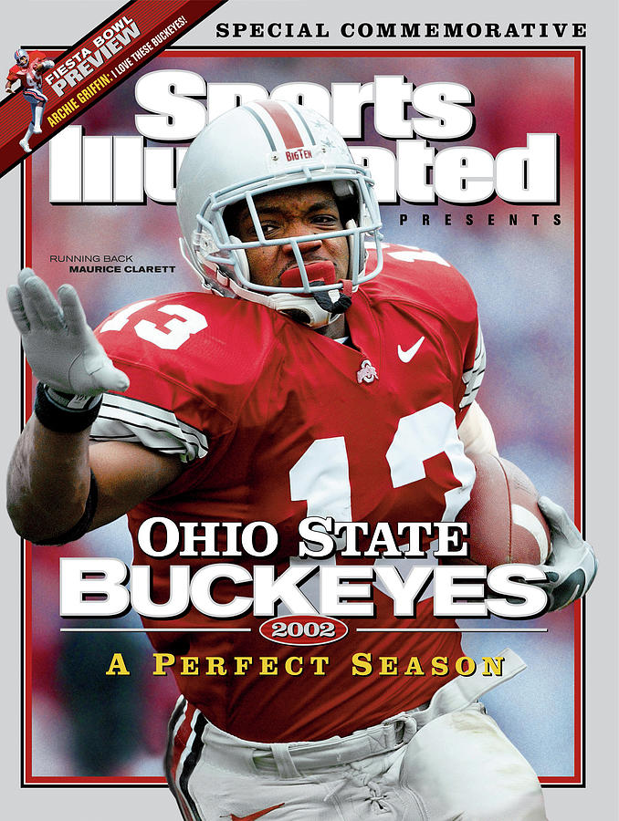 Ohio State University Maurice Clarett, 2002 Ncaa Perfect Sports Illustrated Cover Photograph by Sports Illustrated