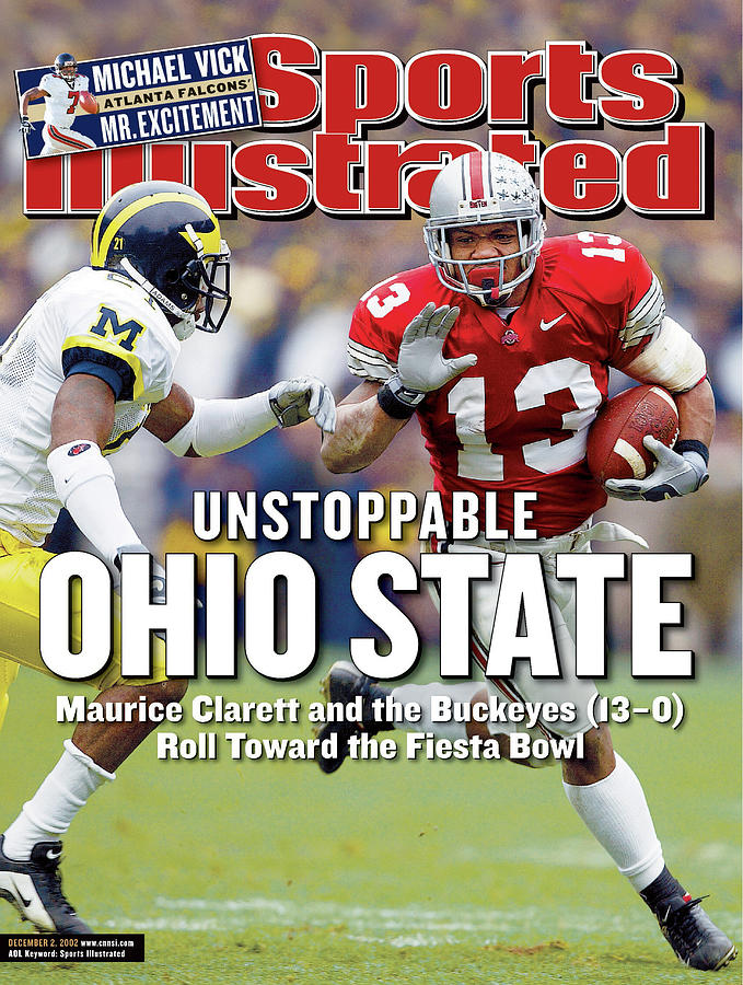 Ohio State University Maurice Clarett Sports Illustrated Cover Photograph by Sports Illustrated