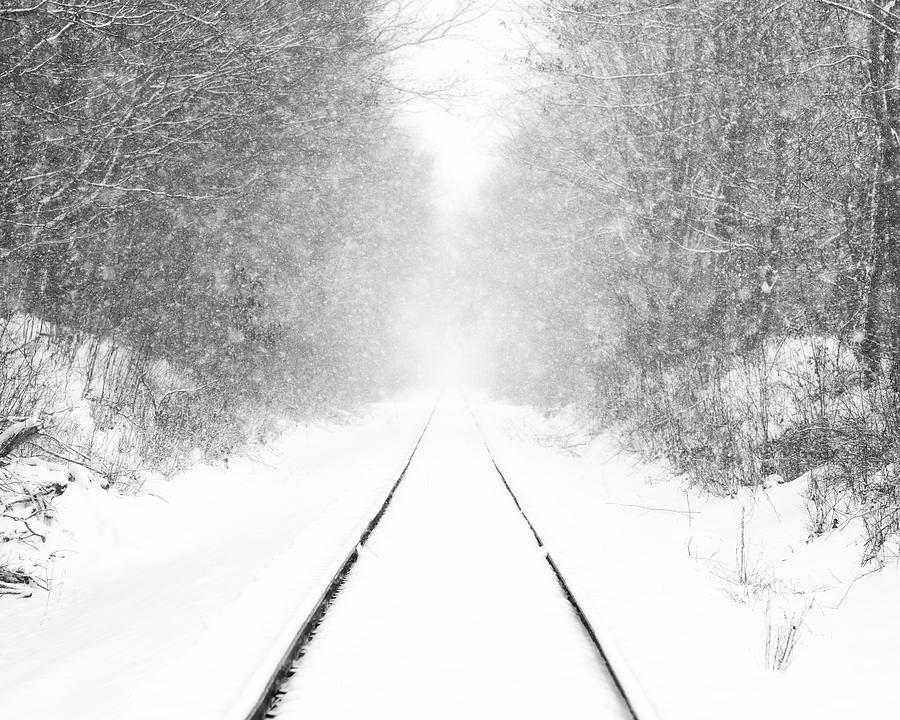 Ohio Winter Whiteout 2 by Matt Hammerstein