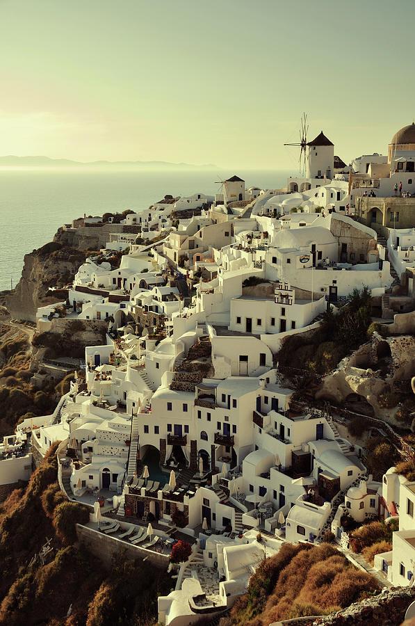 Oia, Santorini Photograph by By Xiaoran Jiang