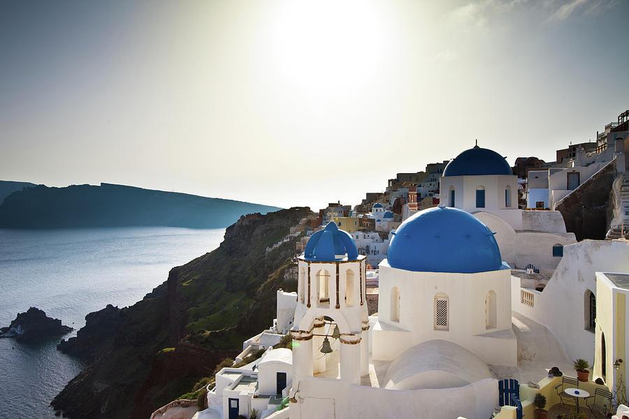 Oia - Santorini, Greece Photograph by Mathew Roberts Photography - Www.matroberts.co.uk