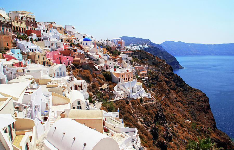 Oia Santorini Greece Photograph by Totororo