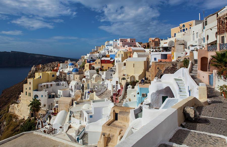 Oia, Santorini Photograph by Wavelet Photography