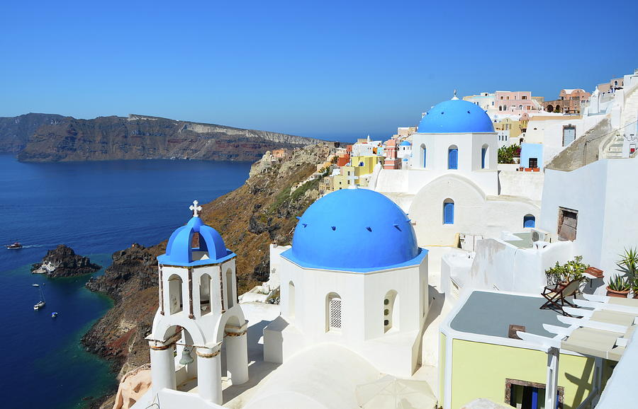 Oia Village Photograph by Loving And Living In This Planet