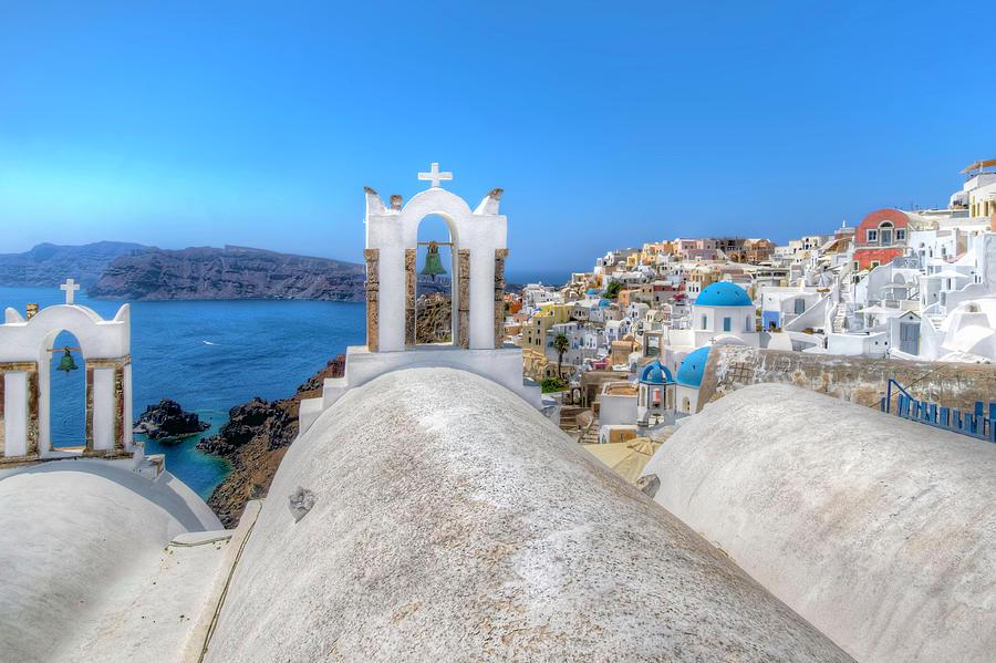 Oia Village, Santorini by Nadia Sanowar