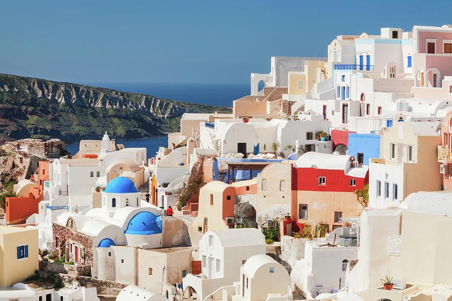 Oia Village, Santorini Photograph by Vasilis Tsikkinis Photos