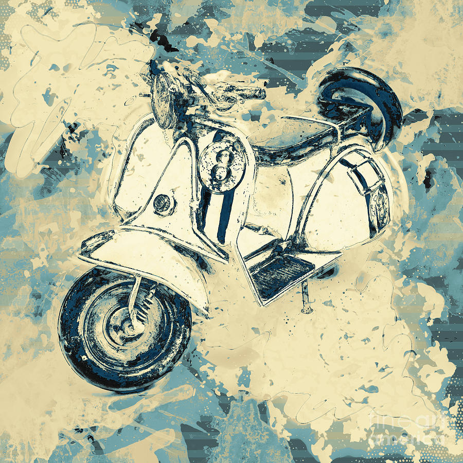 Scooter Photograph - Oil And Gas by Jorgo Photography - Wall Art Gallery