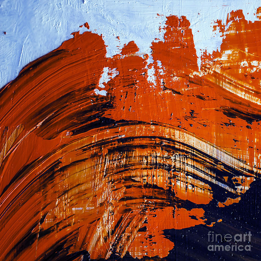 Color Photograph - Oil Painting Abstract Brushstrokes by Gumenyuk Dmitriy