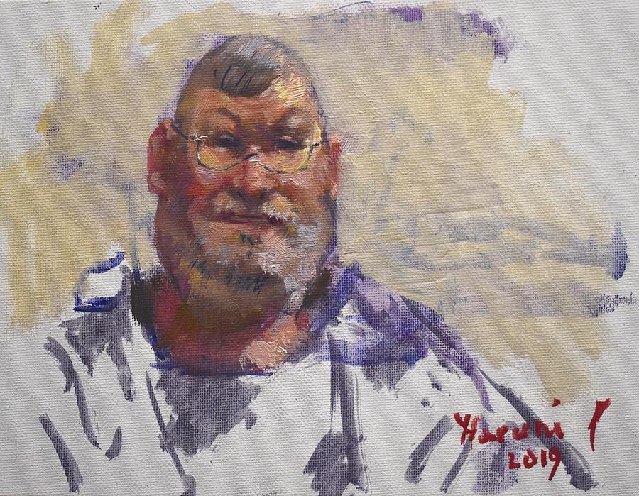 Oil Portrait Sketch by Ylli Haruni