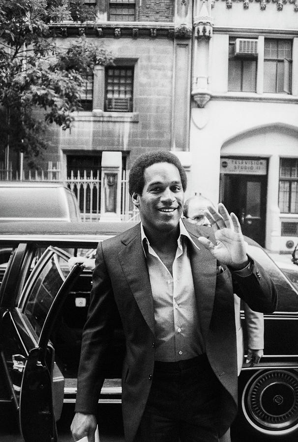 O.j. Simpson Photograph by Art Zelin