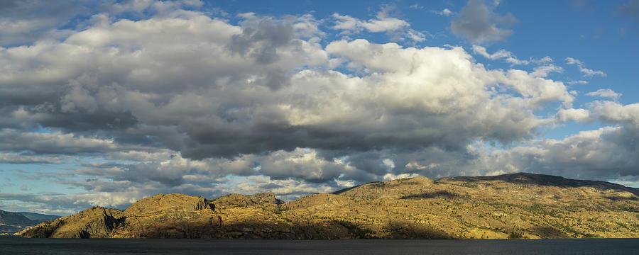 Okanagan Mountain Panorama by Dave Matchett