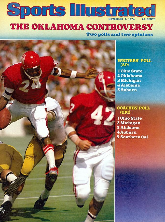 Oklahoma Joe Washington... Sports Illustrated Cover Photograph by Sports Illustrated