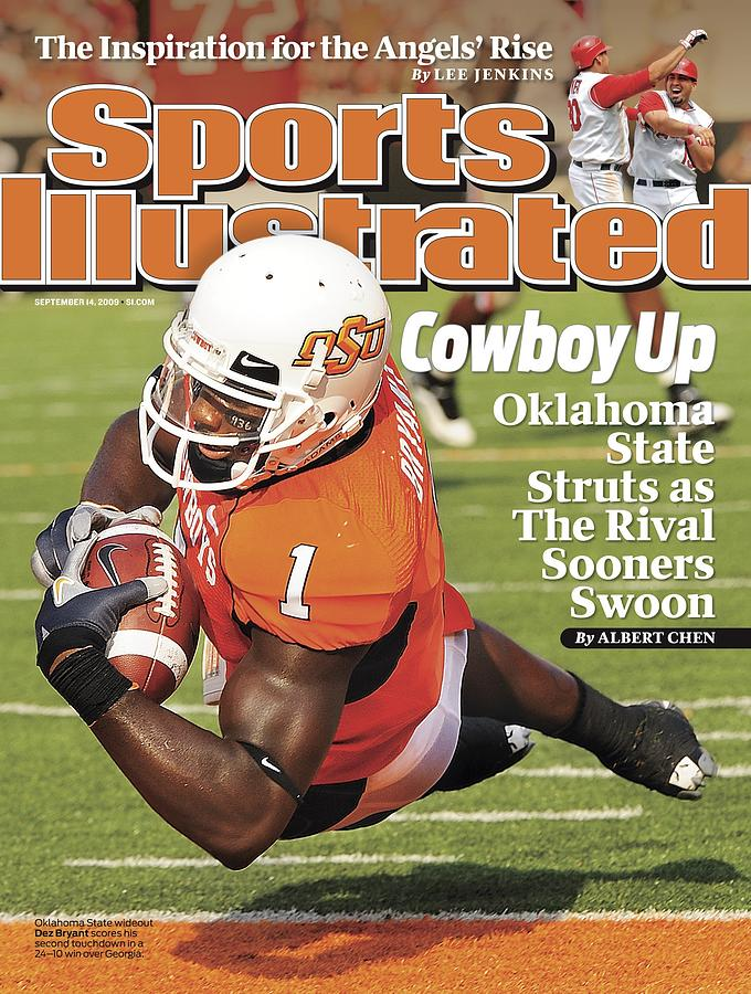 Oklahoma State University Dez Bryant Sports Illustrated Cover Photograph by Sports Illustrated