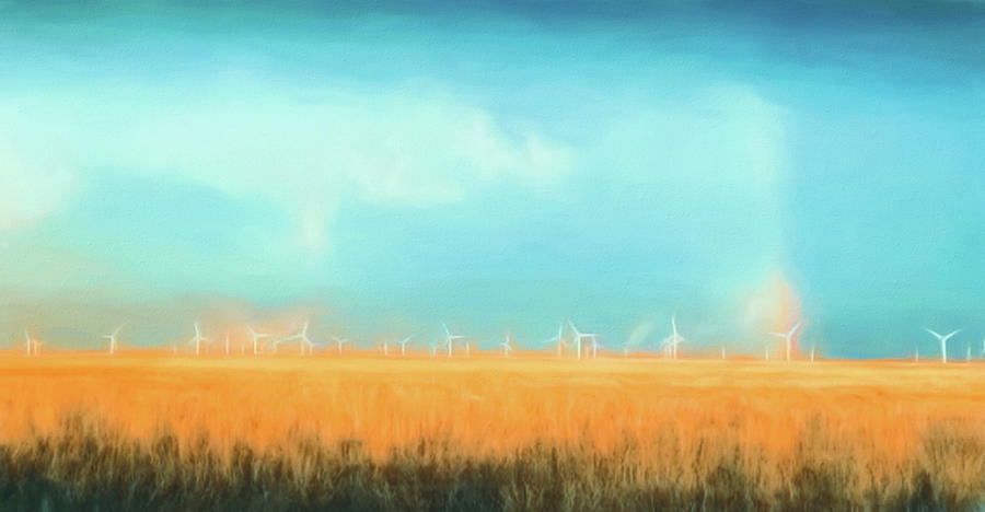 Oklahoma Windmills by Jason Fink