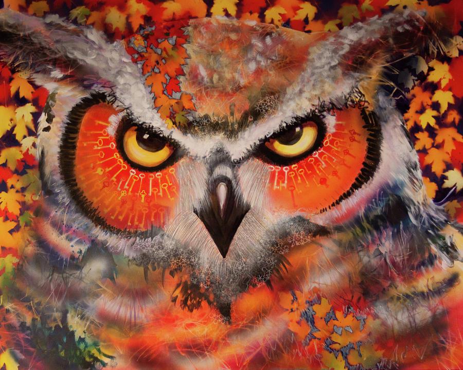OL Keys Owl by Laurel Bahe