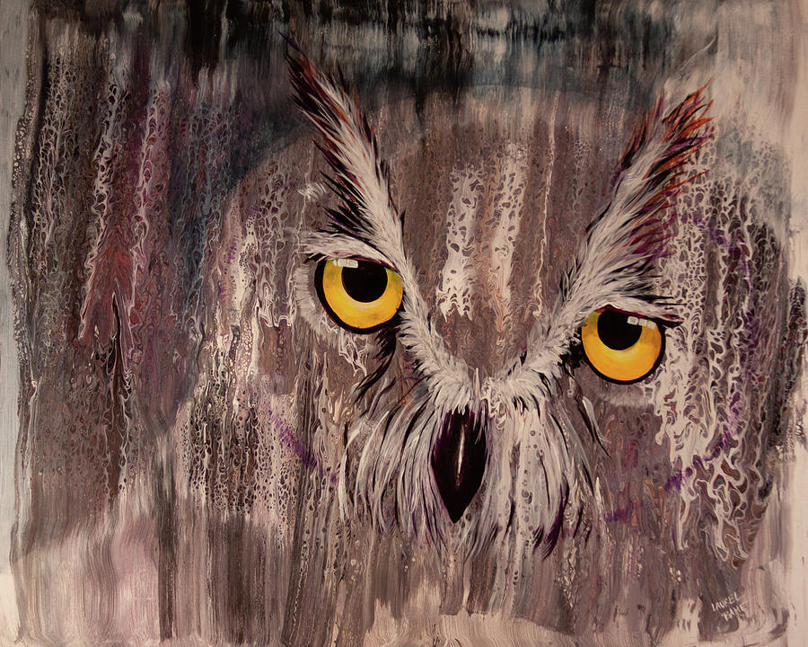 OL Rainy Day Owl by Laurel Bahe