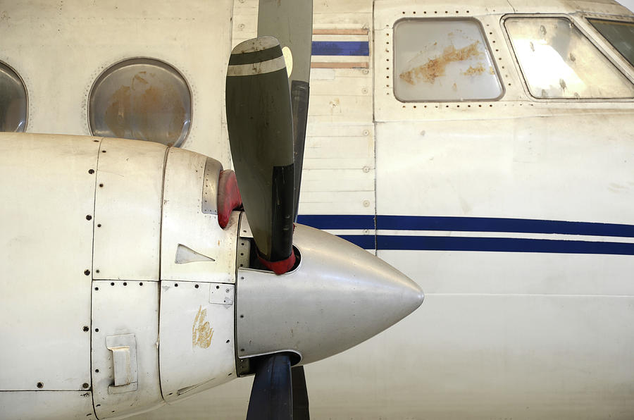 Old Airplane Photograph by Dangdumrong