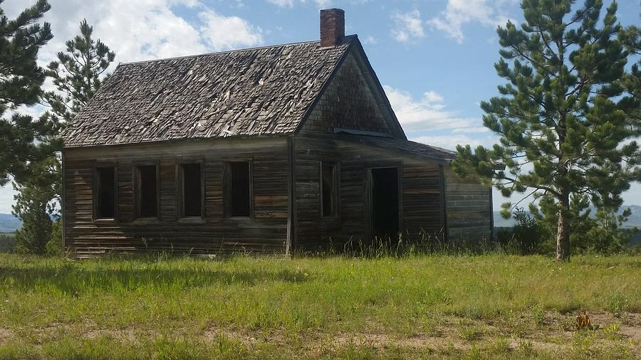 Old School House Photograph - Old And New  by Kaila Buller