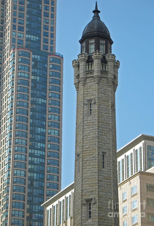 Old And New Towers Photograph