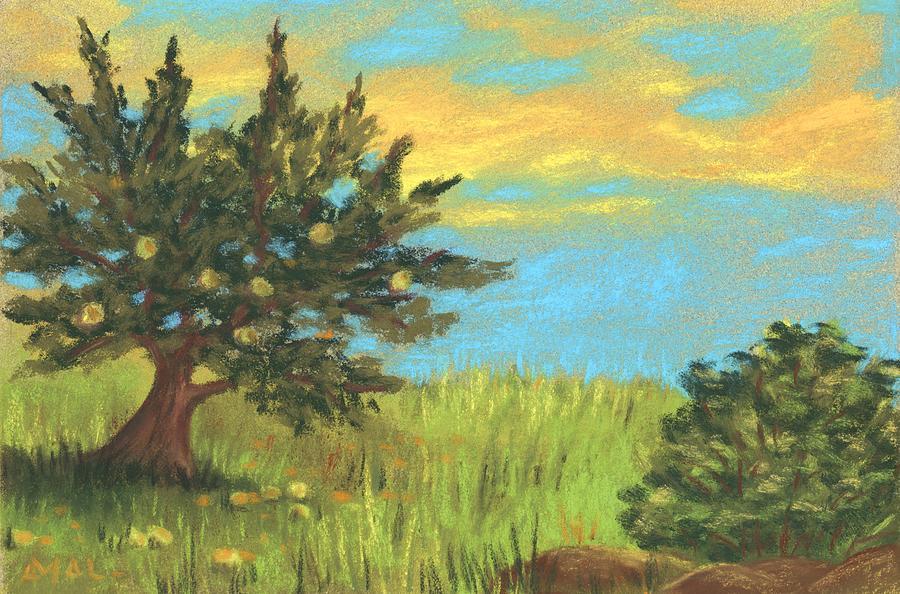 Old Apple Tree by Anastasiya Malakhova