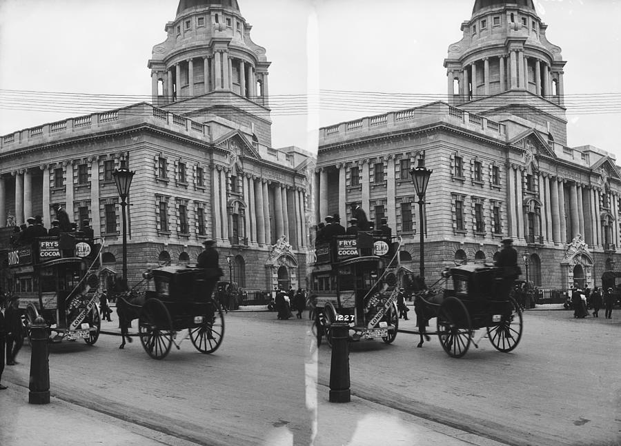 Old Bailey Photograph by London Stereoscopic Company