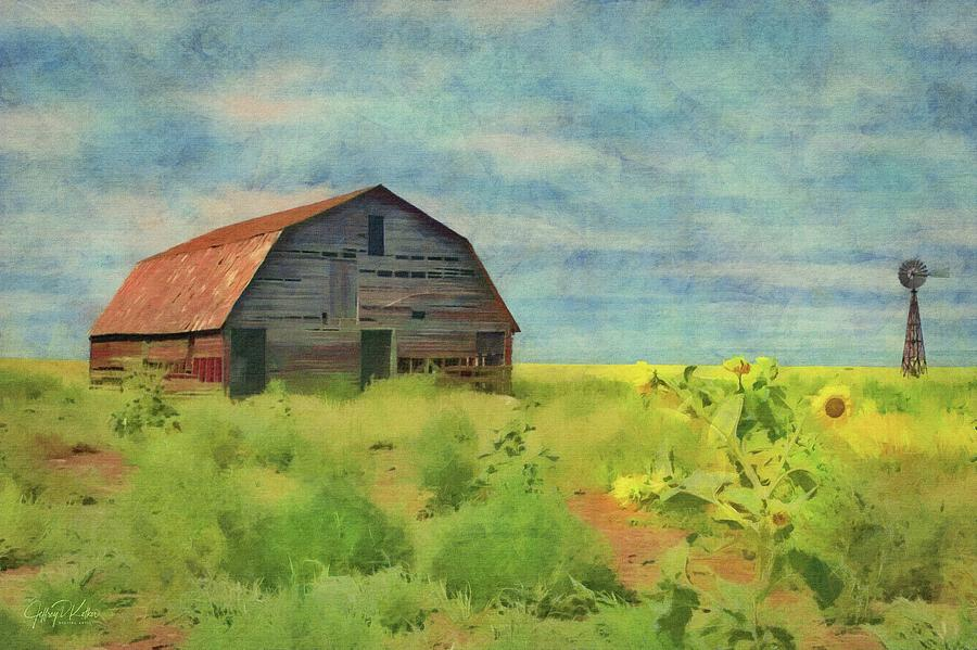 Old Barn Amongst the Weeds by Jeffrey Kolker