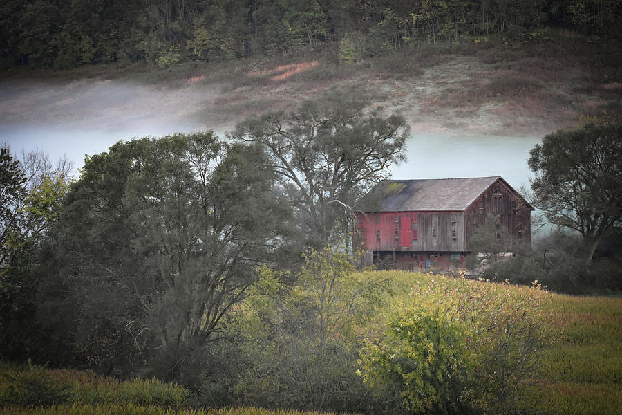 Old Barn Photograph - Old Barn by Michelle Wittensoldner