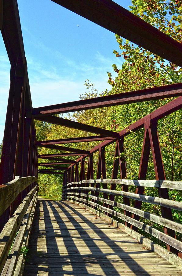 Old Battleground Trail Bridge by Sandi OReilly