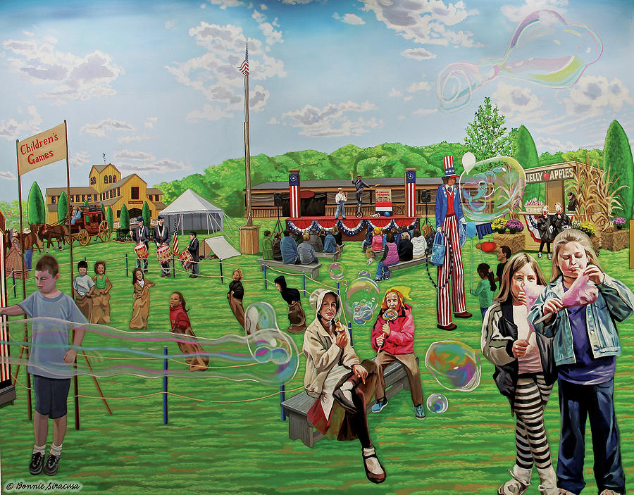 Old Bethpage Restoration Fairgrounds by Bonnie Siracusa