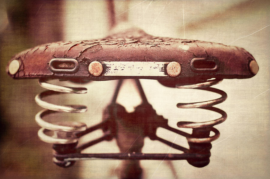 Old Bicycle Seat Photograph by Capturing Faces, Spaces And Places