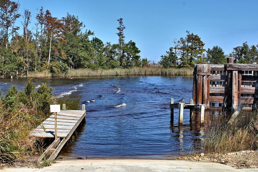 Old Boat Ramp Photograph