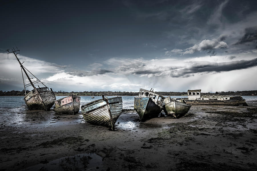 Old Boats by Svetlana Sewell