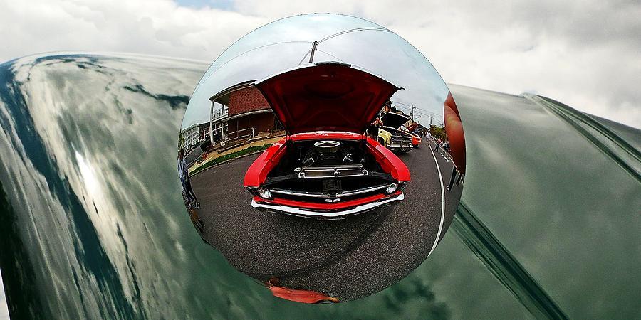 Old car fish eye view by Karl Rose