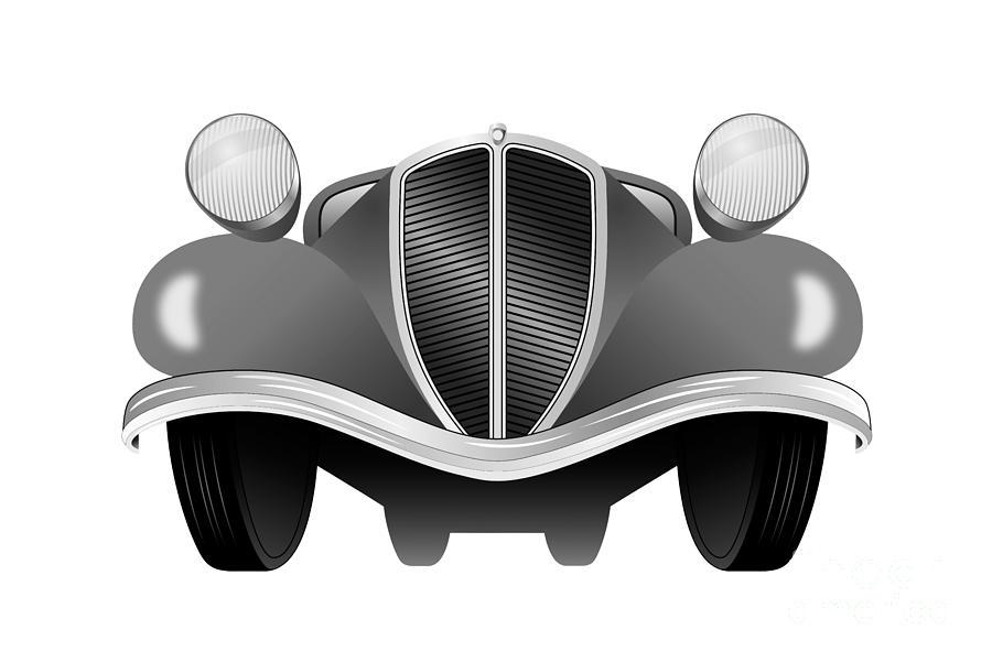 Old car by Michal Boubin