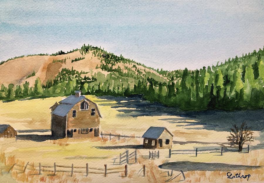 Old Cascades Farm by Christine Lathrop