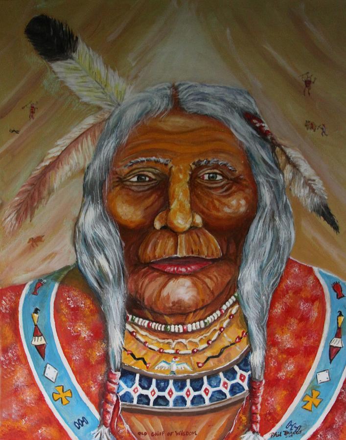 Old Chief of Wisdom by Philip Bracco