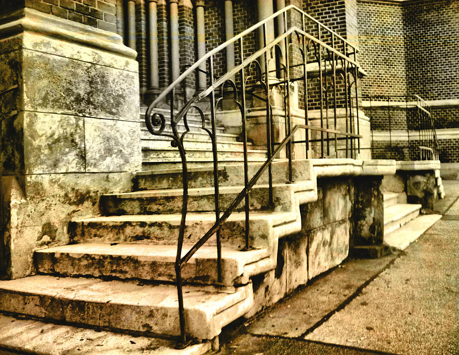 Old Church Entrance In Vienna Photograph