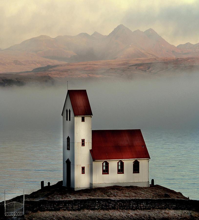 Old Church Photograph by Sverrir Thorolfsson Iceland