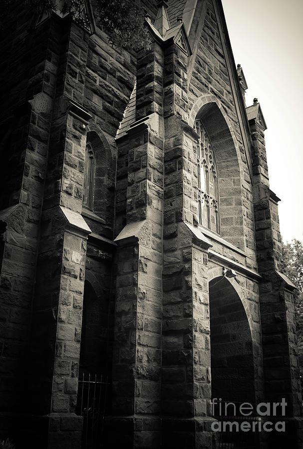 2019 Photograph - Old Church Washington Dc by Edward Fielding