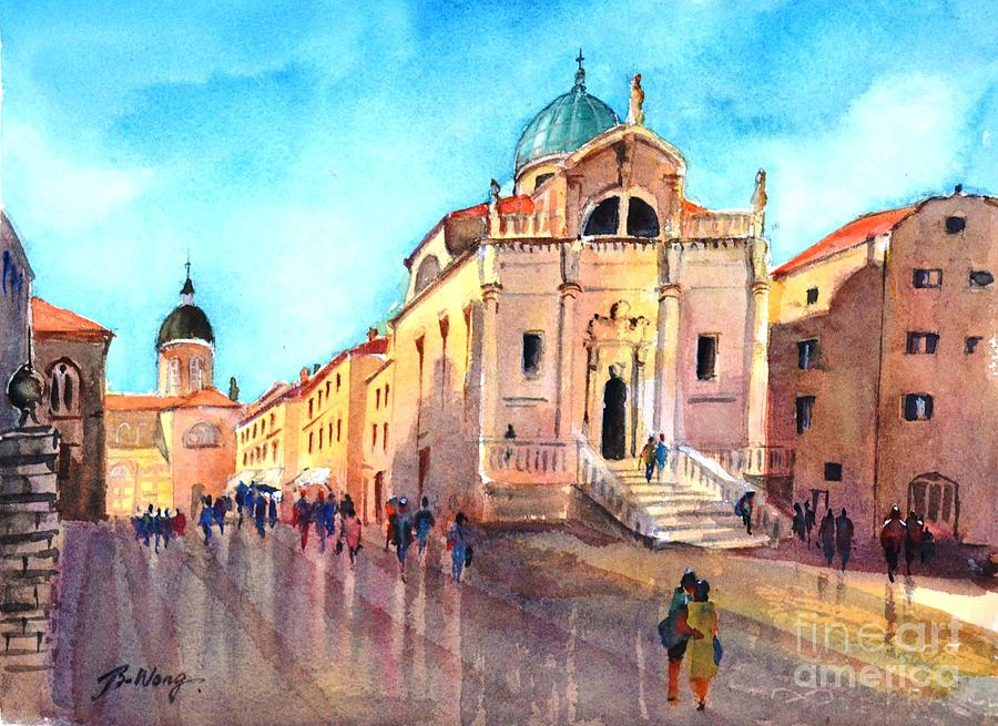Old city of Dubrovnik by Betty M M Wong
