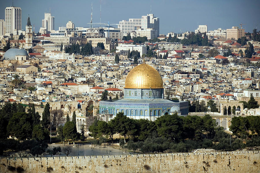 Old City Of Jerusalem Photograph by Claudiad
